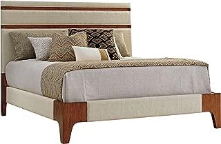 Tommy Bahama Island Fusion Mandarin Upholstered Panel Bed