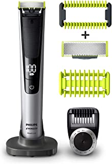 Philip Norelco OneBlade Pro Kit, Hybrid Electric Trimmer...