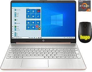 HP Laptop de 15,6 pulgadas (AMD Quad-Core Ryzen 5 3500U, 8GB RAM, 256 GB SSD, HDMI, WiFi, Bluetooth, cámara web HD, Window...