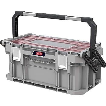 Keter 240570 Cantilever Connect New System - Caja de herramientas (tamaño mediano): Amazon.es: Bricolaje y herramientas