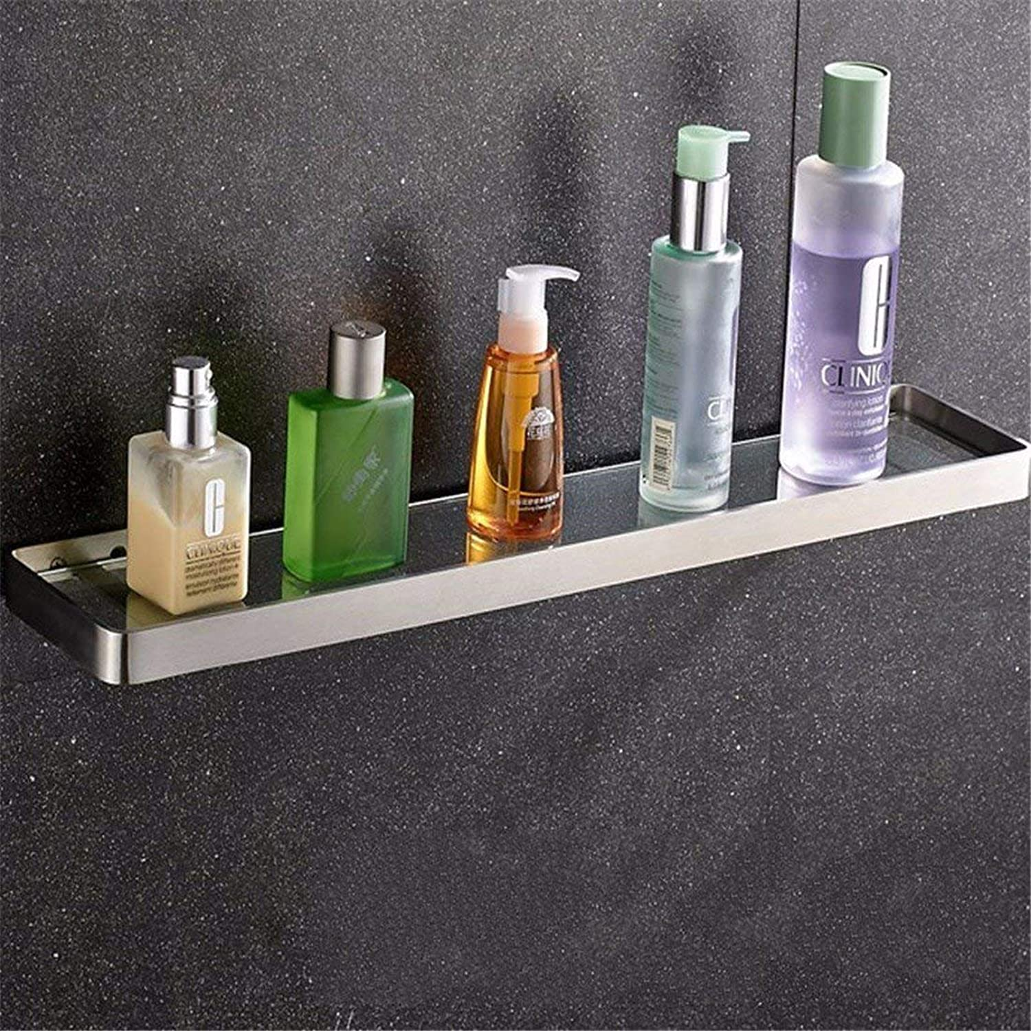 304 Contemporary European Dimensions Stainless Square Bathroom, WC, Toilet Paper, Brush Rack Rack Rack,1