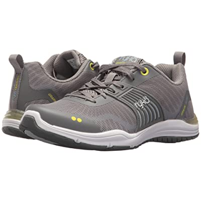 Ryka Grafik Flow (Frost Grey/Bright Chartreuse/Soft Blue) Women