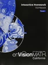Envision Math Interactive Homework Workbook Grade 1 by SCOTT fORESMAN-ADDISON WESLEY (2006-05-03)