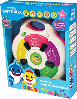 Pinkfong Babyshark Baby Musical Band, Multi-Colour, LS5321