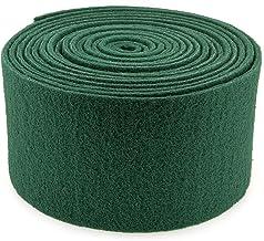 YMBERSA Rollo Estropajo Fibra abrasivo Verde 6 Metros (150x6000mm). Dureza Media