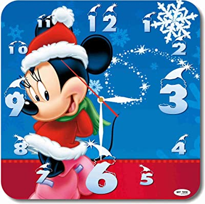 Christmas, New Year, Mickey Mouse 11.4 Handmade Wall Clock - Get Unique