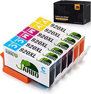 JARBO Compatible Ink Cartridge Replacement HP 920XL High Yield, 3 Colors(2 Cyan 2 Magenta 2 Yellow), Compatible with HP Officejet 6500 6000 7000 7500 6500A 7500A Printer