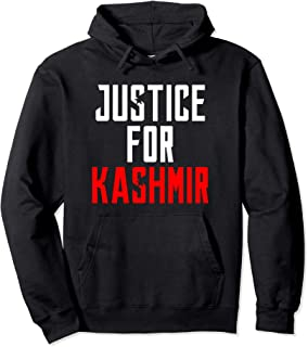 Justice For Kashmir Lockdown By India We Stand With Kashmir Pullover Hoodie