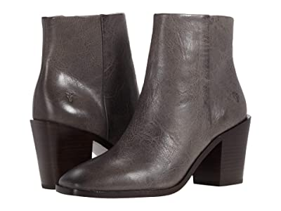 Frye Georgia Bootie (Graphite Waxed Veg Tan) Women