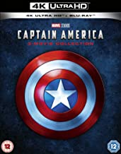 Captain America 4K UHD Trilogy 4K 2019  Region Free