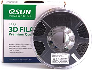 eSUN - 3D PLA-filament, 1.75mm, black, 1kg/roll