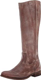 حذاء برقبة طويلة للركبة بسحاب من الداخل للنساء من FRYE، بني داكن، 7. 5 M US