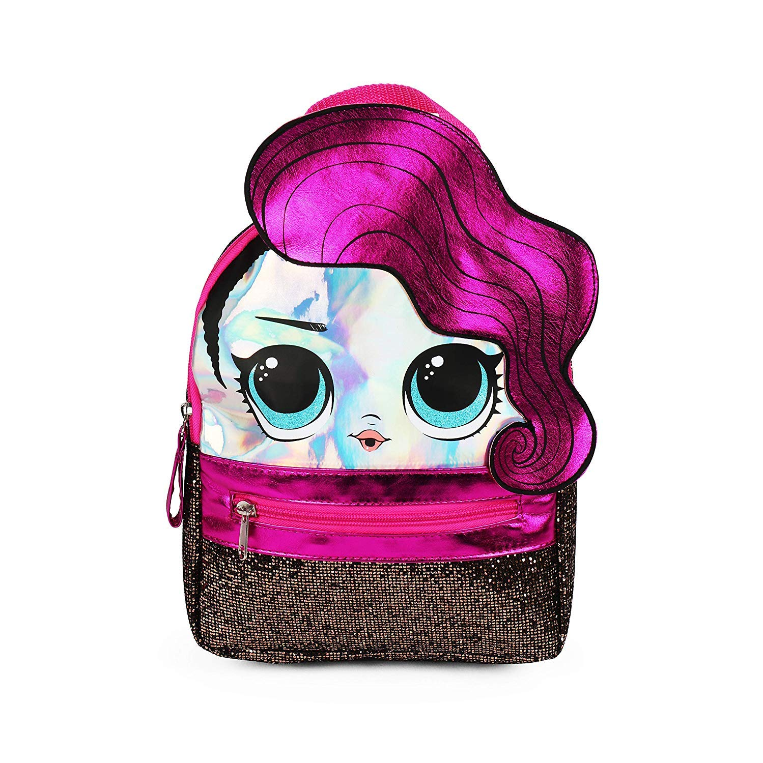 LOL 서프라이즈 '퍼플' 미니 백팩 LOL Surprise! Purple Mini Backpack