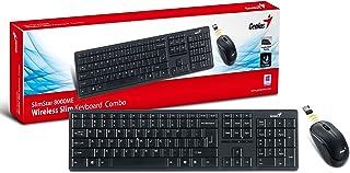 لوحة مفاتيح توصيل لاسلكي من جينيوس 8000ME