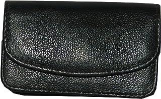 Laveri Black Leather For Unisex - Flap Wallets