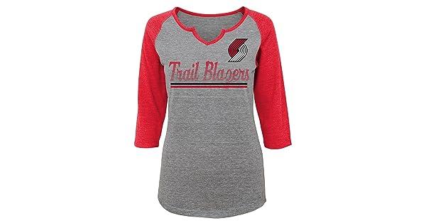 7-9 NBA Junior Girls Over the Line 3//4 Tee Shirt Philadelphia 76ers-Dark Grey Heather-M