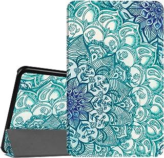 Fintie SlimShell Funda para Samsung Galaxy Tab A 10.1 2016 - Súper Delgada y Ligera Carcasa con Función de Soporte y Auto-Reposo/Activación para Modelo SM-T580N/T585N, Esmeralda