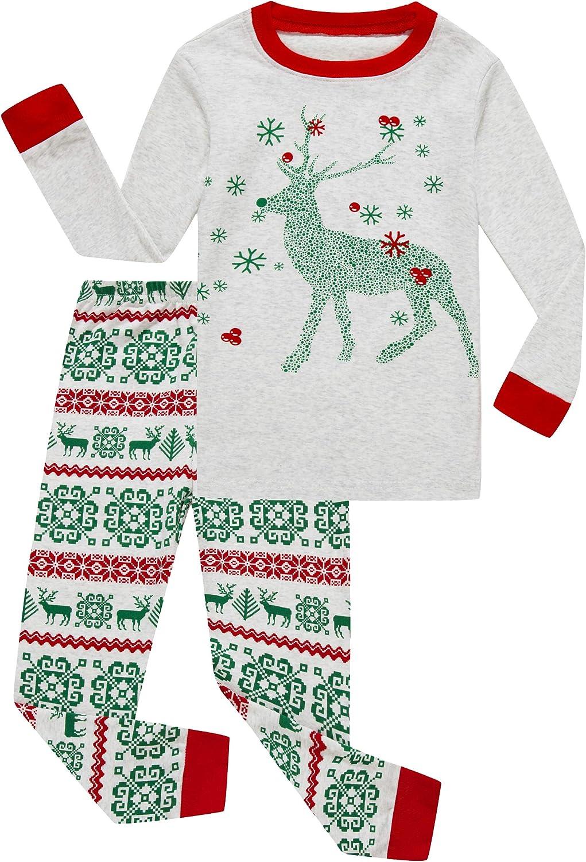 Family Feeling Dinosaur Little Boys Kids Pajamas Sets 100% Cotton Long sleeve Pjs