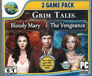 GRIM TALES The Vengeance + Bloody Mary + Bonus Hidden Object PC Game