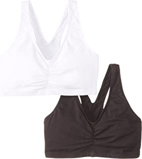 Hanes Women's Comfort-Blend Flex Fit Pullover Bra (Pack of