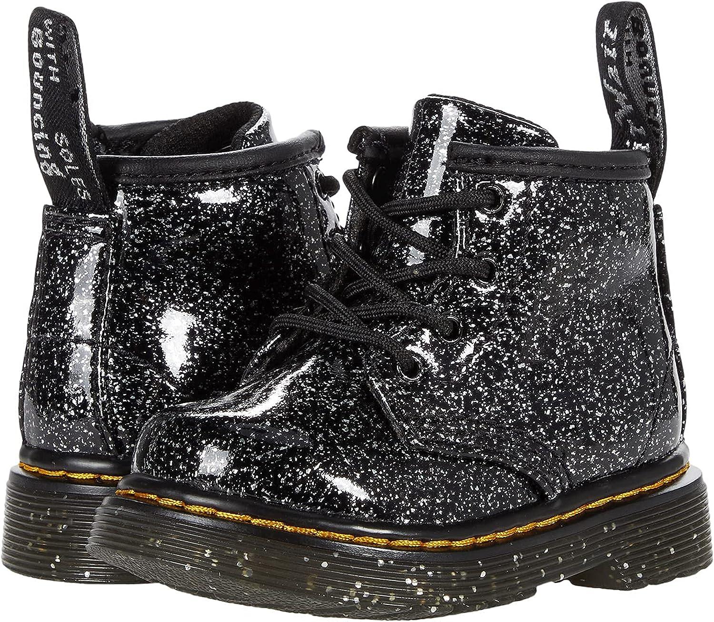 Dr. Martens 1460 (Toddler) Black Cosmic Glitter 4 UK (US 5 Toddler) M