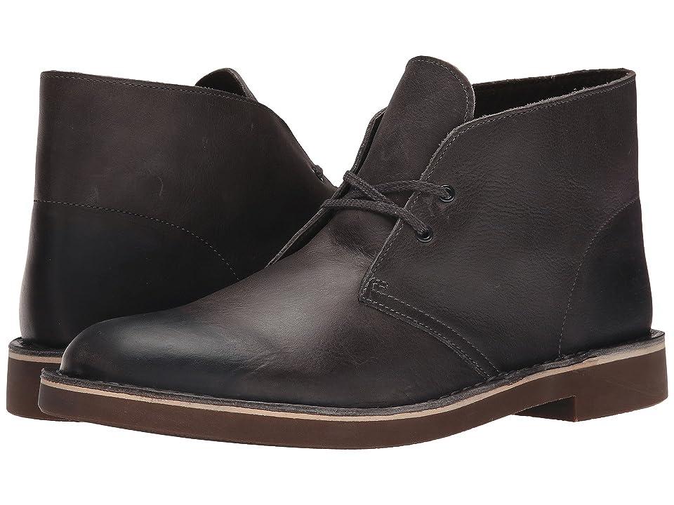 Clarks Bushacre 2 (Grey Leather) Men