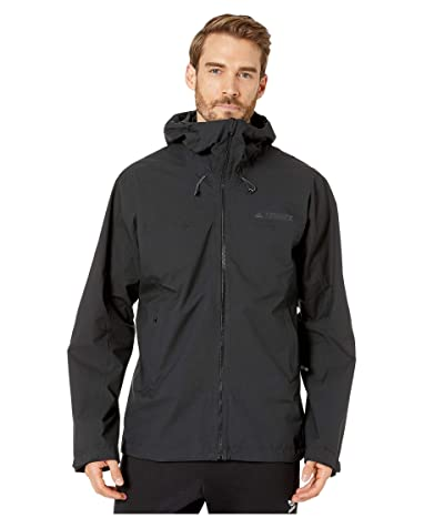 adidas Outdoor Swift Rain Jacket (Black) Men