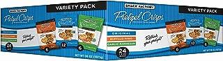 Snack Factory Pretzel Crisps Variety Pack, Single-serve 1.5 Ounce, 24 Count