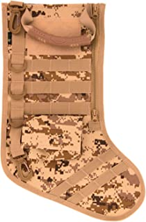 RUCKUP RUXMTSDDC Tactical Christmas Stocking, Full, Desert Digital Camo