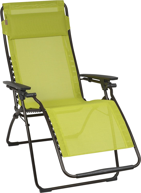 Lafuma Relax-Liegestuhl, klappbar und verstellbar, Futura Batyline, Papageno