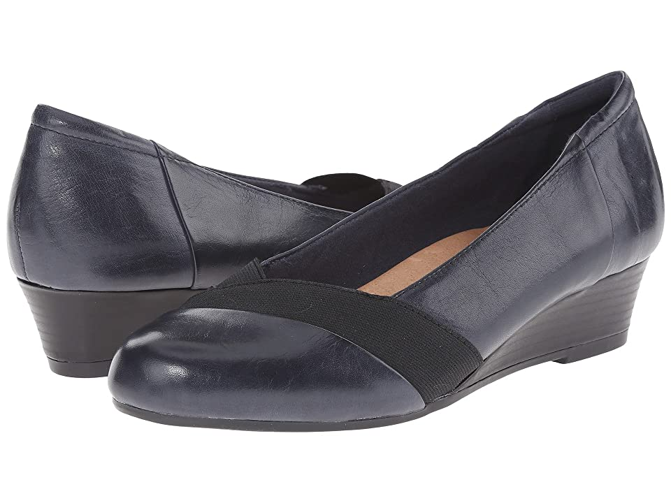 Earth Elderberry (Admiral Blue Calf Leather) Women