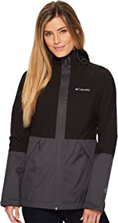 Columbia Women's Evolution Valley Jacket Black/Shark Melange Small