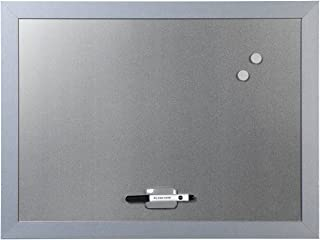Bi-Office Blokko Tableau blanc magnétique avec surface argentée 600 x 450 mm