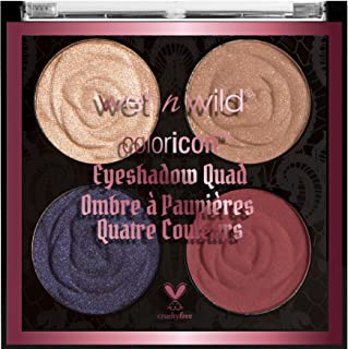 Wet N Wild Color Icon Eyeshadow Quad- Secret Garden Rendezvous
