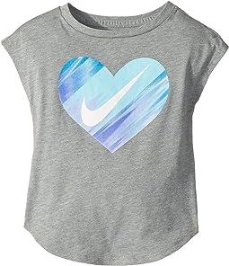 Nike Kids Heart Gradient Morph Short Sleeve Tee (Toddler)