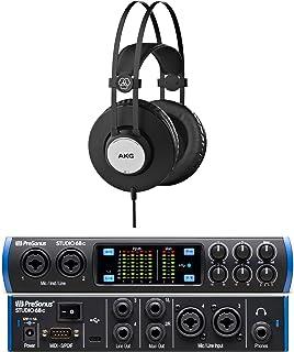 Presonus Studio 68c Versatile, Ultra-High-Def USB-C Audio Interface Bundle with Heaphone