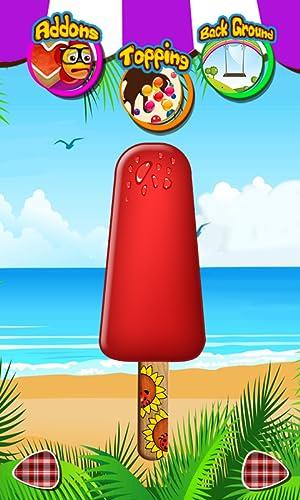 『アイスキャンディ2 - 女の子のためのメーカーのゲーム』の5枚目の画像
