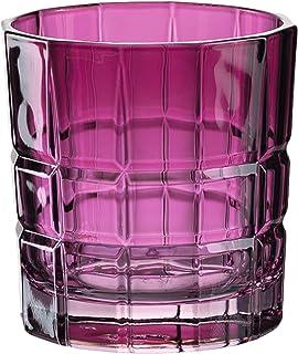 Leonardo Trinkglas SPIRITII, Glas, Trinkgefäß, Wasserglas, Kalk-Natron Glas, Violett, 170 ml, 028762-1 Stück
