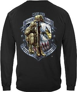 Erazor Bits Freedom is Never Free Long Sleeve T Shirt MM2272LS