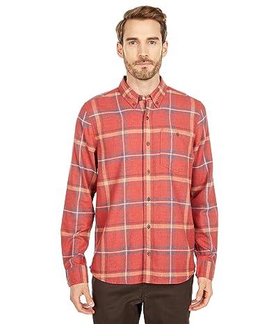 Toad&Co Airsmyth Long Sleeve Shirt (Ketchup) Men