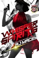 Whisper of Spirits: A Paranormal FBI RH Romance (War of Power Series 2: FSID Agents Series Book 1) Kindle Edition