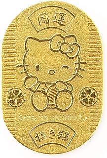 [ハローキティ] Hello Kitty 純金小判 24金小判 3g 開運小判 招き猫(22×14㎜) JKBKT 103