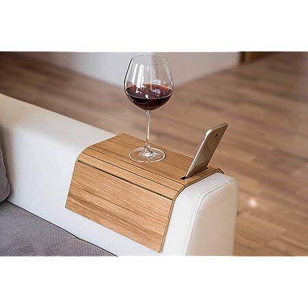 Armlehnenschoner Aus Holz Sofa Ablage Untersetzer Sofa Tablett Handyhalterung 3 Küche Haushalt