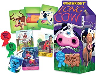 Gamewright Long Cow - an Udderly Ridiculous Card Game