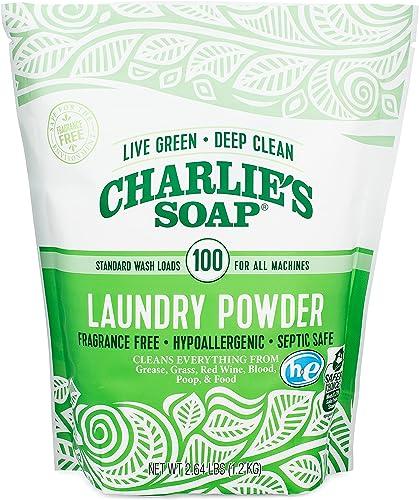 Charlie's Soap Laundry Powder 2.64lbs