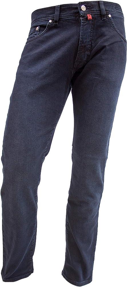 Pierre cardin, jeans da uomo deauville, elasticizzati,  98% cotone, 2% elastan 31961-7350-15