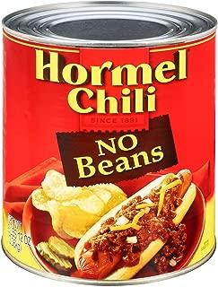 Best hormel chili no beans 108 oz Reviews