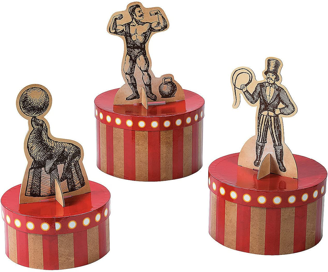 Free Shipping Cheap Bargain Gift Max 74% OFF Fun Express - Vintage Circus Party for Decor Centerpiece