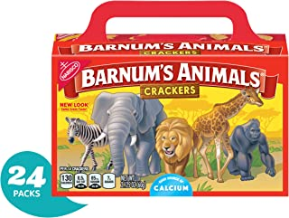 Barnum's Animal Crackers, 2.125 oz Boxes (Pack of 24) (packaging may vary)