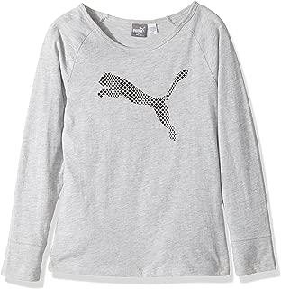PUMA Girls' Long Sleeve T-Shirt and Headband